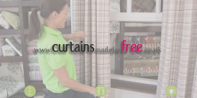 Curtains made for free logo